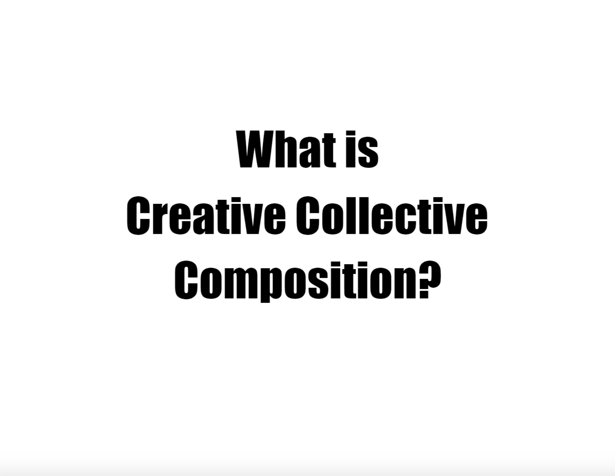 Webinar: Dan Trahey On Collective Composition – May 2018