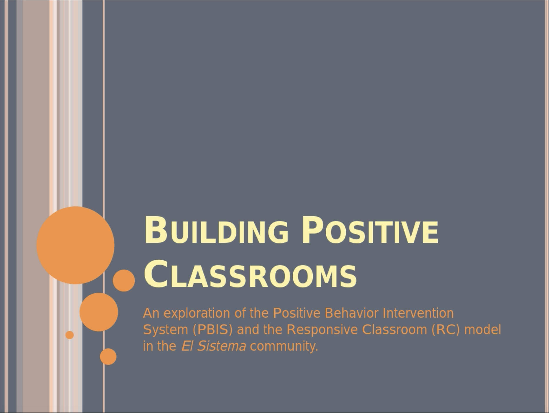 Webinar: Sarah Bader On Building Positive Classrooms – March 2017